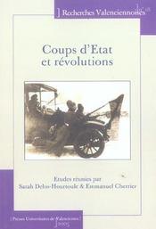 Coups D'Etat Et Revolutions - Intérieur - Format classique
