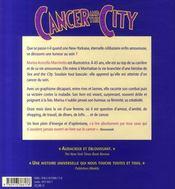 Cancer and the city - 4ème de couverture - Format classique