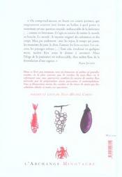 La cuisine de maître Keu - 4ème de couverture - Format classique