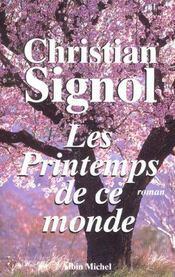 Les printemps de ce monde - Intérieur - Format classique
