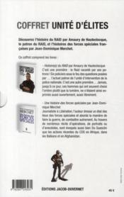 Unités d'élites ; une histoire des forces spéciales - 4ème de couverture - Format classique