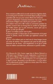 Antino... - 4ème de couverture - Format classique