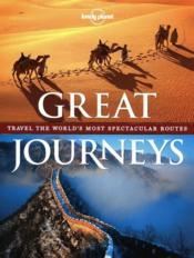 Great journeys - Couverture - Format classique