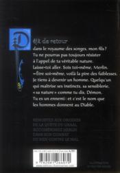 Graal noir t.2 ; l'enfant des prodiges - 4ème de couverture - Format classique