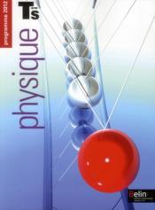 Physique ; terminale S ; enseignement spécifique ; manuel de l'élève - Couverture - Format classique