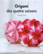 Origami des quatre saisons - Couverture - Format classique