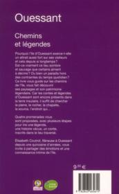 Ouessant ; chemins et légendes - 4ème de couverture - Format classique