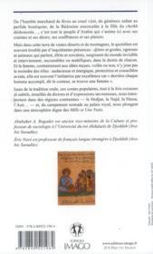 Contes populaires d'arabie - 4ème de couverture - Format classique