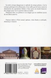 Pornographie du temps présent - 4ème de couverture - Format classique