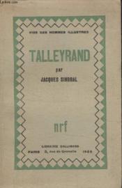 Collection Vies Des Hommes Illustres N° 2. Talleyrand. - Couverture - Format classique