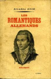 Les Romantiques Allemands. - Couverture - Format classique