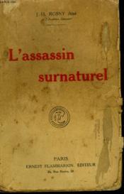 L'Assassin Surnaturel. - Couverture - Format classique