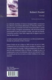 Handji - 4ème de couverture - Format classique