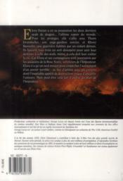 Willow t.3 ; étoile d'ombre - 4ème de couverture - Format classique