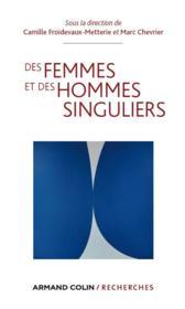 Des femmes et des hommes singuliers - Couverture - Format classique