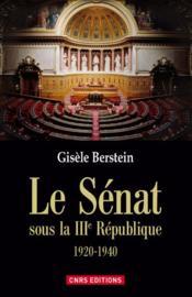 Le sénat sous la IIIe République - Couverture - Format classique