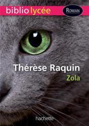 Thérèse Raquin - Couverture - Format classique