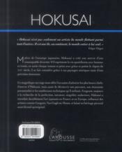 Album Hokusai - 4ème de couverture - Format classique
