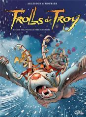 Trolls de Troy T.19 ; pas de Nöl pour le père Grommël - Couverture - Format classique