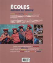 Écoles autour du monde - 4ème de couverture - Format classique