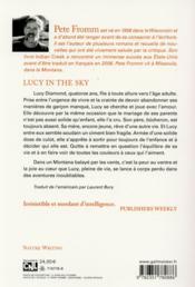 Lucy in the sky - 4ème de couverture - Format classique