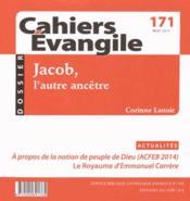 Cahiers de l'Evangile ; Jacob histoires et récits ce171 - Couverture - Format classique