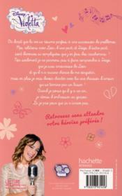 Violetta ; saison 2 t.2 ; mon coeur balance - 4ème de couverture - Format classique
