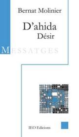 D'ahida ; désir - Couverture - Format classique