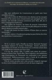 Retis galactica t.2 ; les héritiers - 4ème de couverture - Format classique
