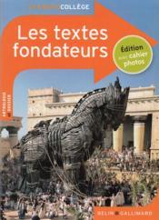 Les textes fondateurs - Couverture - Format classique