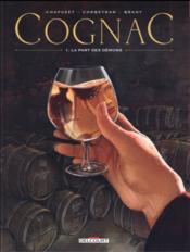 Cognac T.1 ; la part des démons - Couverture - Format classique