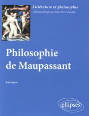 Philosophie De Maupassant - Couverture - Format classique