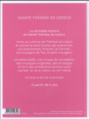 Sainte thérèse de lisieux racontée par Téo - 4ème de couverture - Format classique