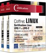 Linux ; préparation aux certifications LPIC-1 et LPIC-2 (examens LPI 101, 102, 201, 202) (3e édition) - Couverture - Format classique