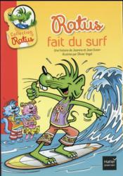 Ratus fait du surf - Couverture - Format classique
