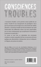Consciences troubles - Couverture - Format classique