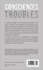 Consciences troubles - 4ème de couverture - Format classique