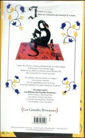 La princesse Flore et son poney Bouton d'Or - 4ème de couverture - Format classique