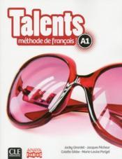 Talents ; niveau A1 ; livre de l'élève + dvd rom ; version Anaya - Couverture - Format classique