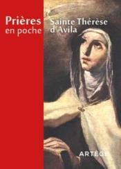 Prieres En Poche ; Sainte Thérèse D'Avila - Couverture - Format classique