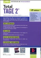 Total tage 2 (2e édition) - 4ème de couverture - Format classique