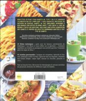 L'assiette anti-diabète ; conseils pratiques et recettes : bien manger pour vivre mieux - 4ème de couverture - Format classique