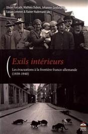 Exils intérieurs - Couverture - Format classique
