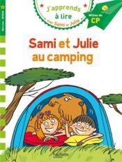 J'apprends à lire avec Sami et Julie ; Sami et Julie au camping - Couverture - Format classique