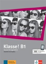 Klasse! ; allemand ; cahier d'évaluations + audios ; B1 - Couverture - Format classique
