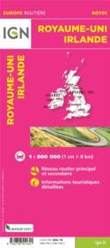 ROY01 : Royaume-Uni, Irlande (3e édition) - Couverture - Format classique