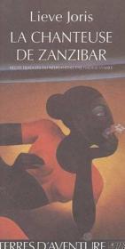 La chanteuse de zanzibar - Couverture - Format classique