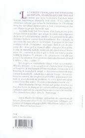 Petit traité des finesses et des nouveaux tourments de la langue française - 4ème de couverture - Format classique