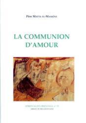 La communion d'amour - Couverture - Format classique