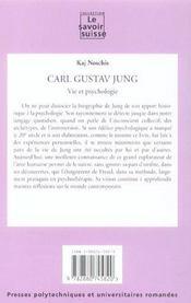 Carl Gustav Jung-Vie Psychologie (15) Figures - 4ème de couverture - Format classique